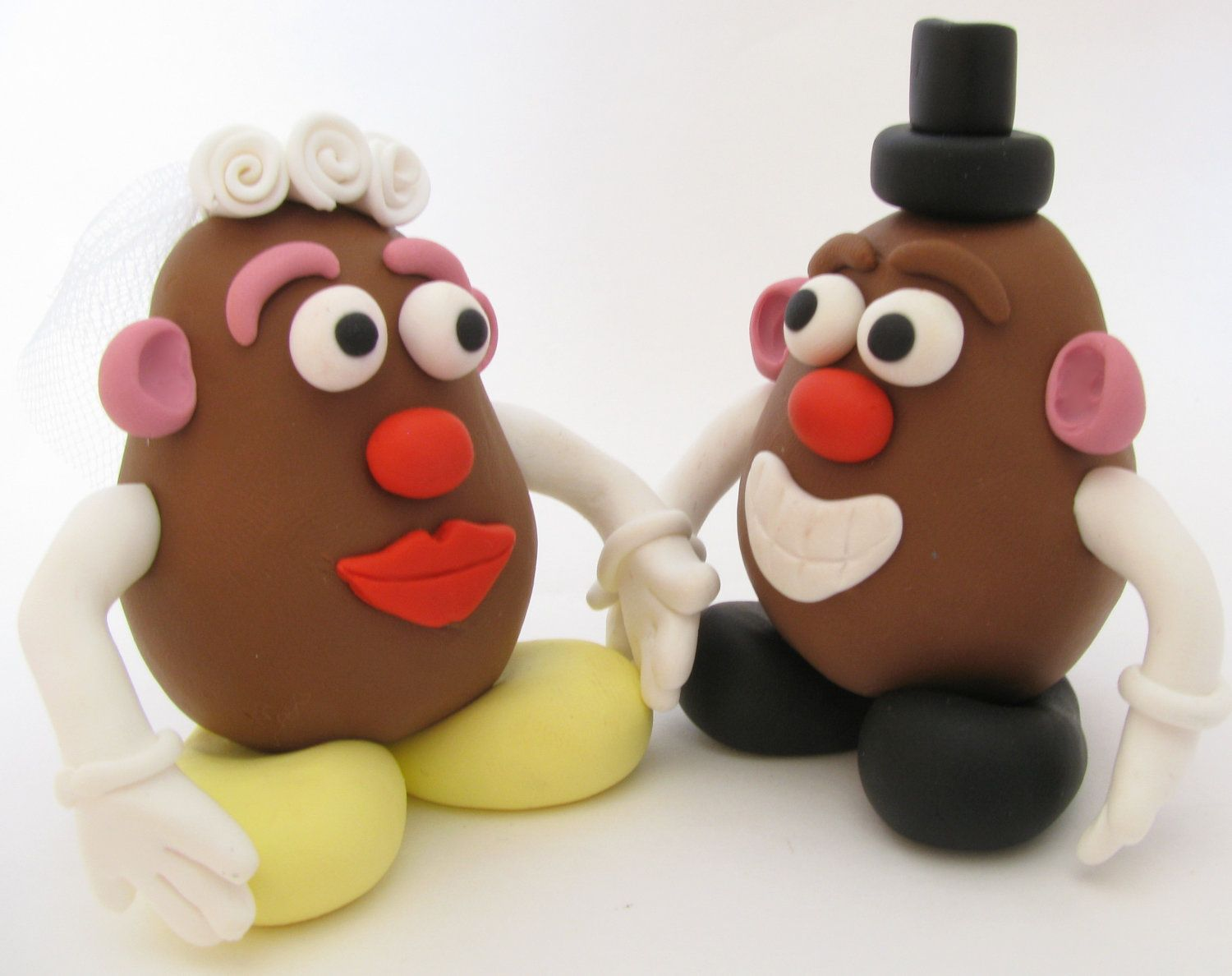 Mr and Mrs potato head wedding cake topper Wedding Funny and Cakes