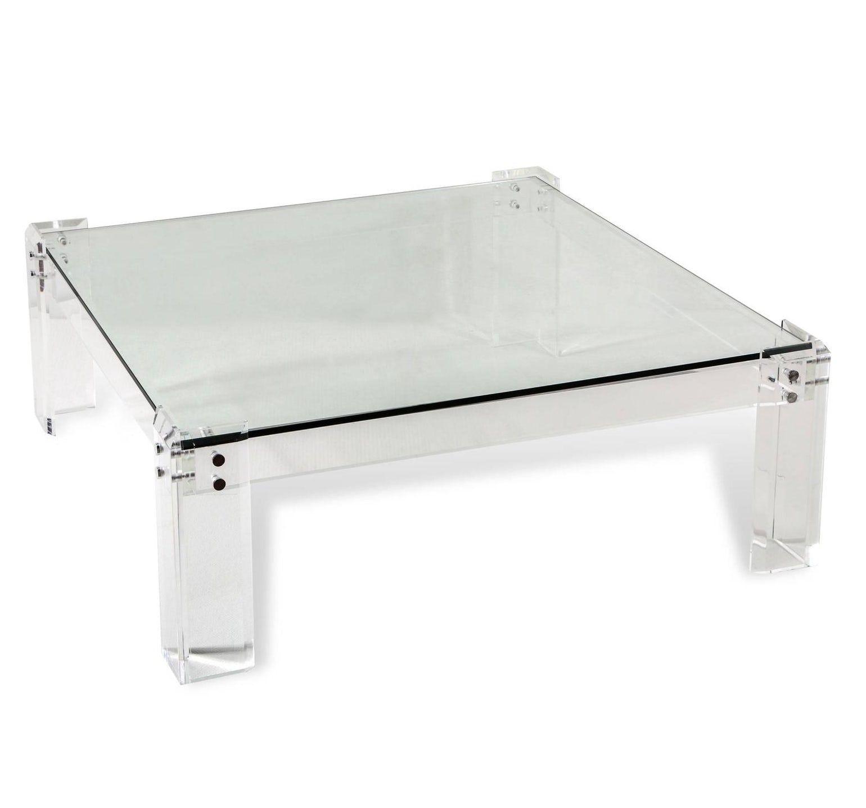 Plexigl Coffee Table Contemporary