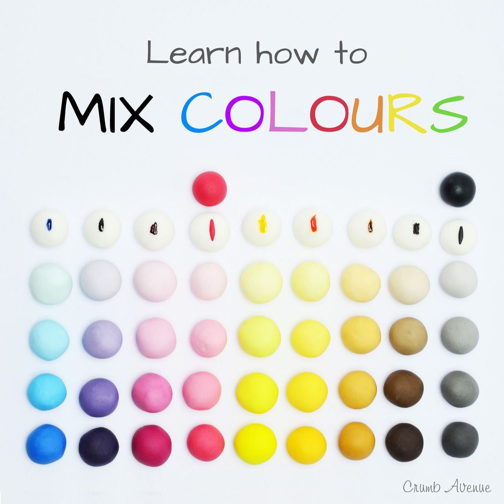 How to mix colours tutorial how to mix colors free