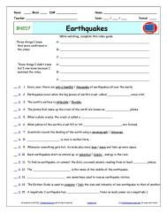 Bill Nye Video Guide And Worksheets Science Guy Bill Nye