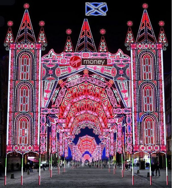Street Of Light To Line Edinburgh's Royal Mile In Lead Up