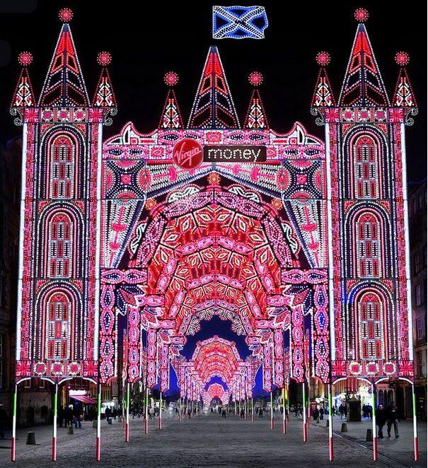 Light Shop In Edinburgh: Street Of Light To Line Edinburgh's Royal Mile In Lead Up