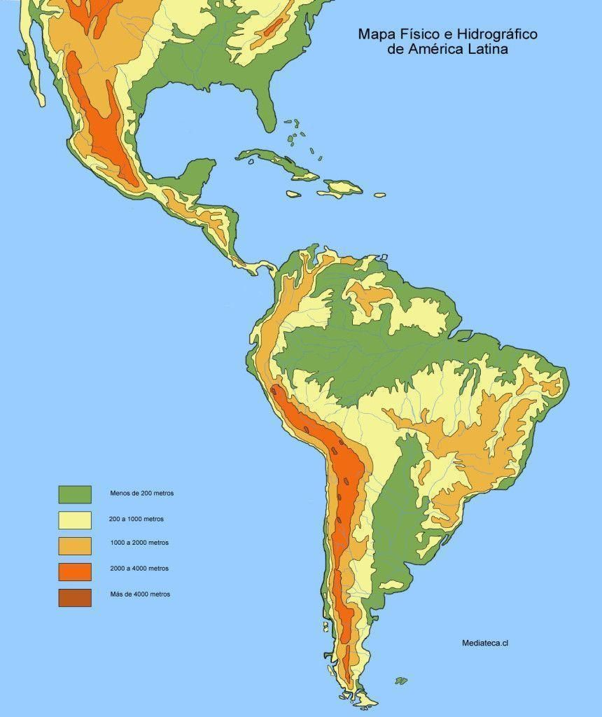 América Latina Países Características Físicas Economia Resumo Mapa América Do Sul Latina América Latina