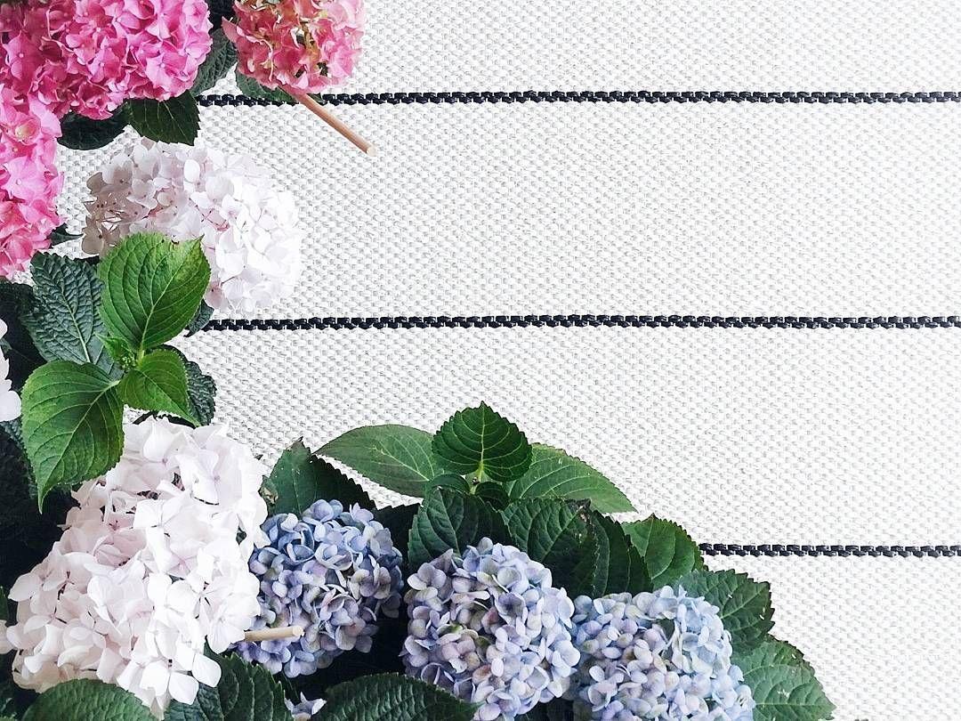 . Streifen auf unserem Balkon für Fee @feemail  und ihre Foto-Mitmachaktion #formenfeelfalt   . Hier stürmt es heute prächtig und ich fürchte ein wenig um meine Hortensien  . . . #balcony #outdoor #outdoorliving #balconygarden #hortensien #hydrangea #foreverandeverplants #carpet #outdoorcarpet #pappelina #tv_living #plants #urbanjunglebloggers #homedecor #tv_living #balkon #balkonliebe #streifen #teppich #outdoorteppich