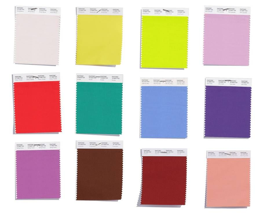 Pantone 2018: Die Farbtrends fürs Frühjahr