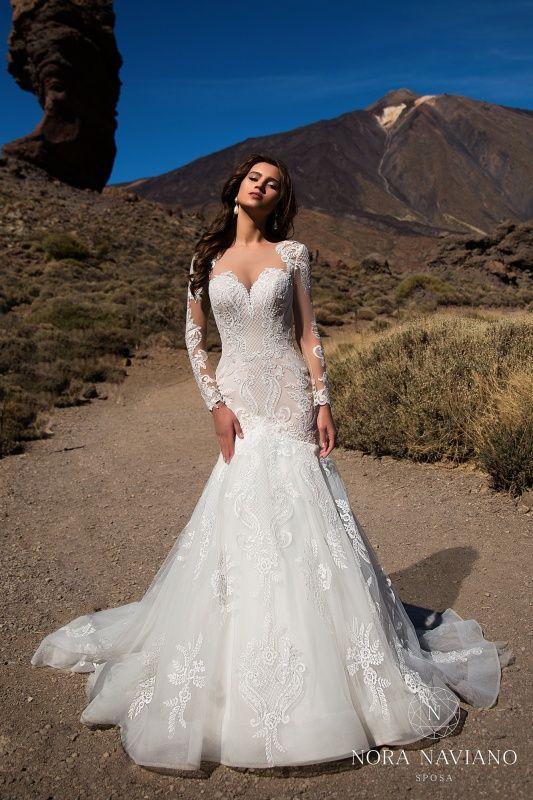 Photo of Wedding Dresses. Wedding Salon White Tan …