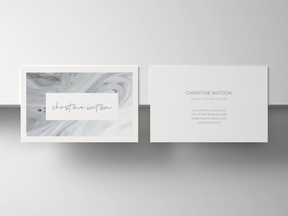 Download Wavy Stylish Visit Card Template For Free Shablon