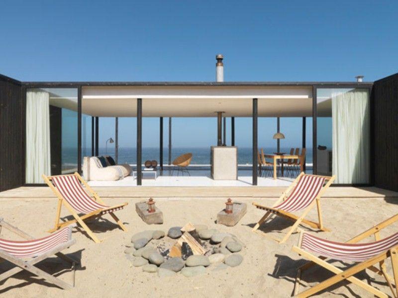Ultra Minimalist Beach Retreat In Chile Beach house