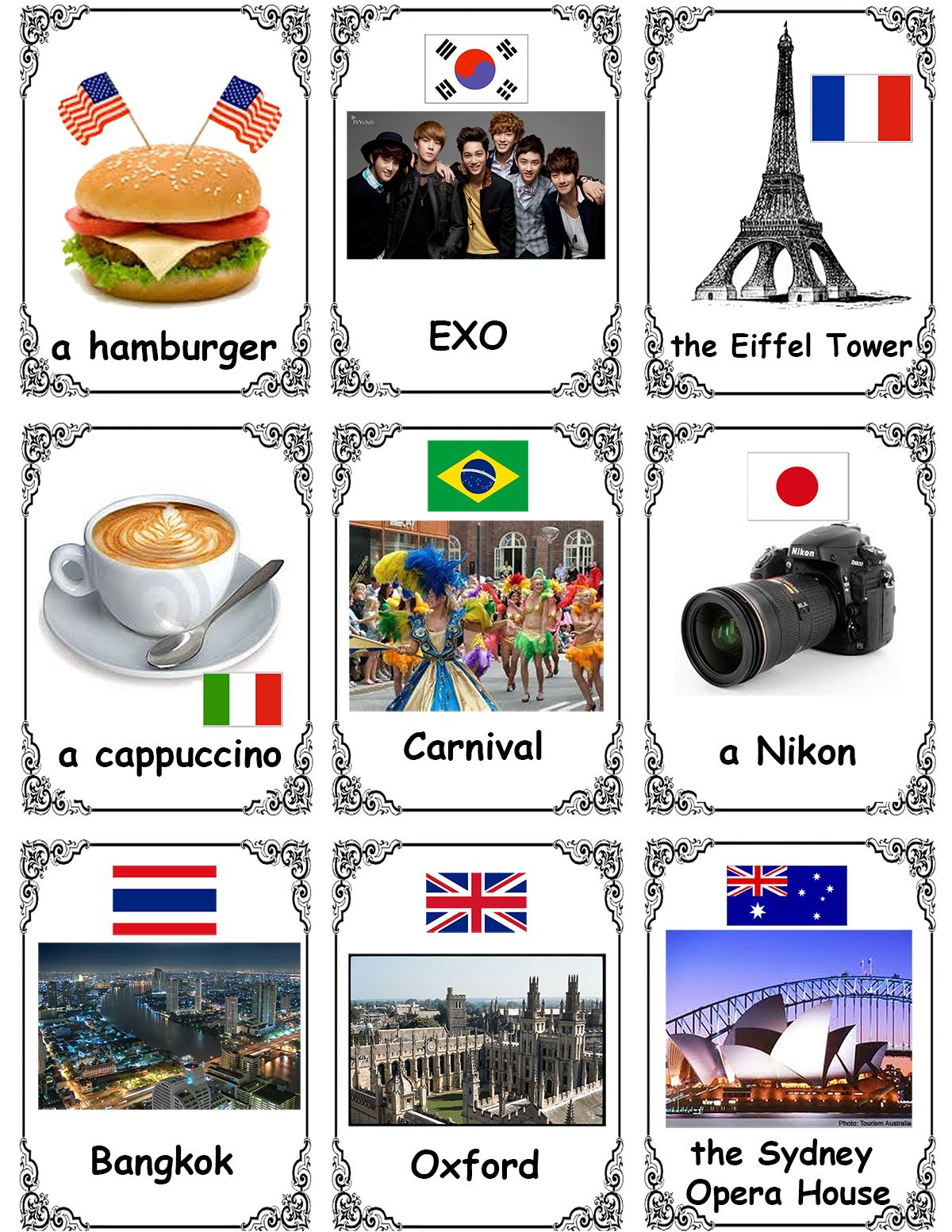 Day 17 Esl Worksheet Proper And Common Nouns
