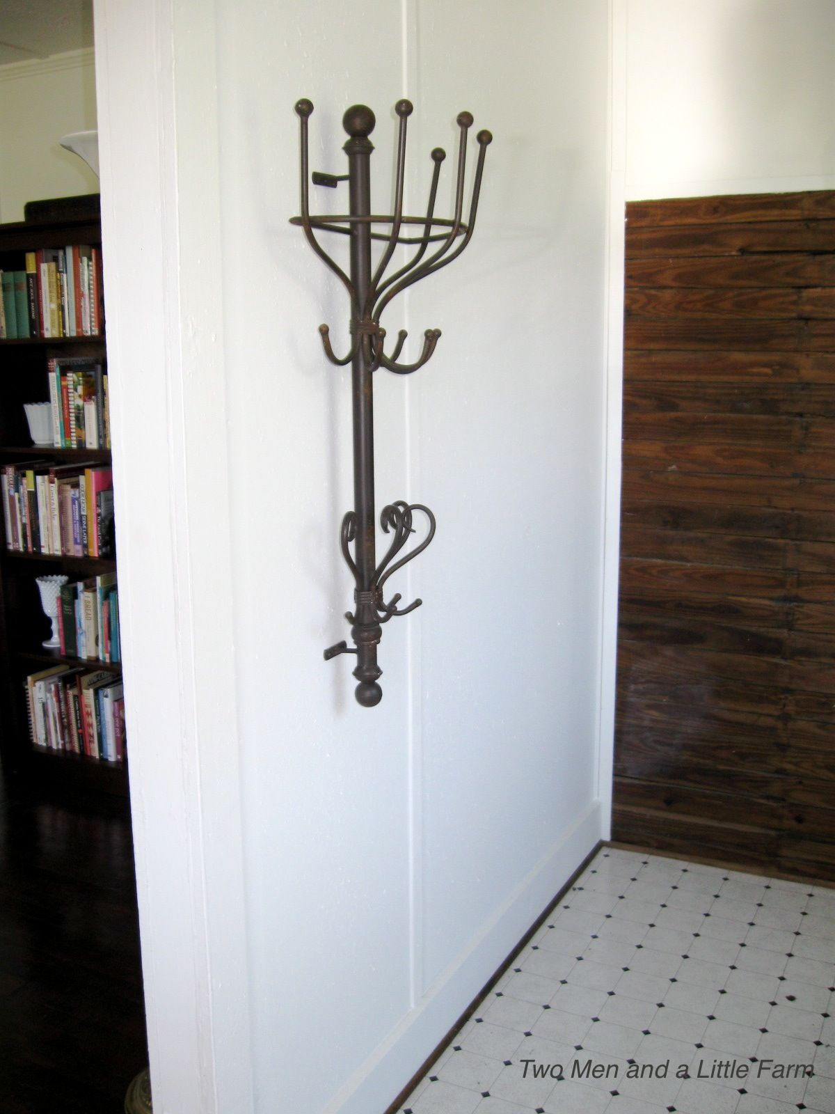 Based On An Antique Coat Tree We Saw In A Paris Bistro Our Wall Mounted Rack Wall Mounted Coat Rack Coat Rack Coat Rack Wall