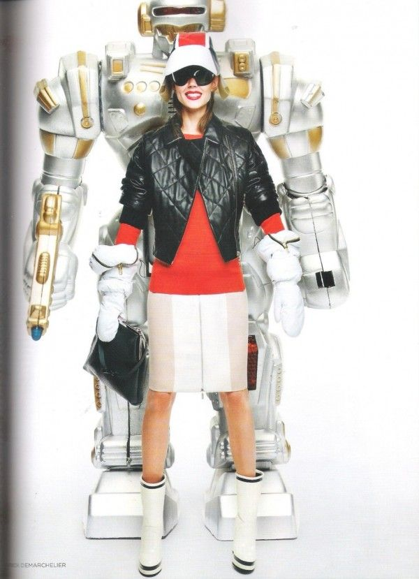 """""""Tech Mate"""" by Patrick Demarchelier for VOGUE UK October '11"""