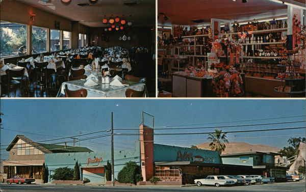 Palby S Restaurant Vallejo Ca Postcard Vallejo California