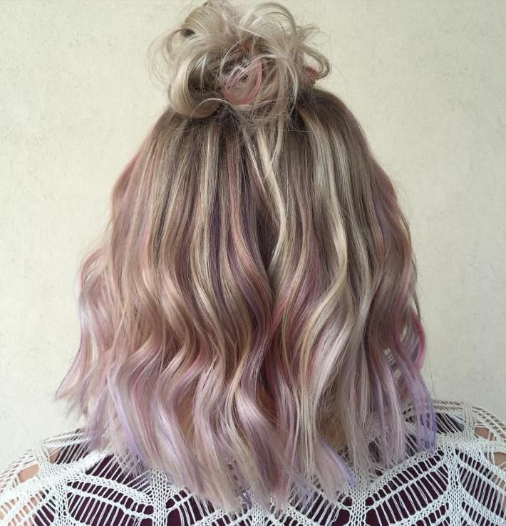 40 Pink Hairstyles As The Inspiration To Try Pink Hair Dip Dye Hair Pink Hair Pink Blonde Hair