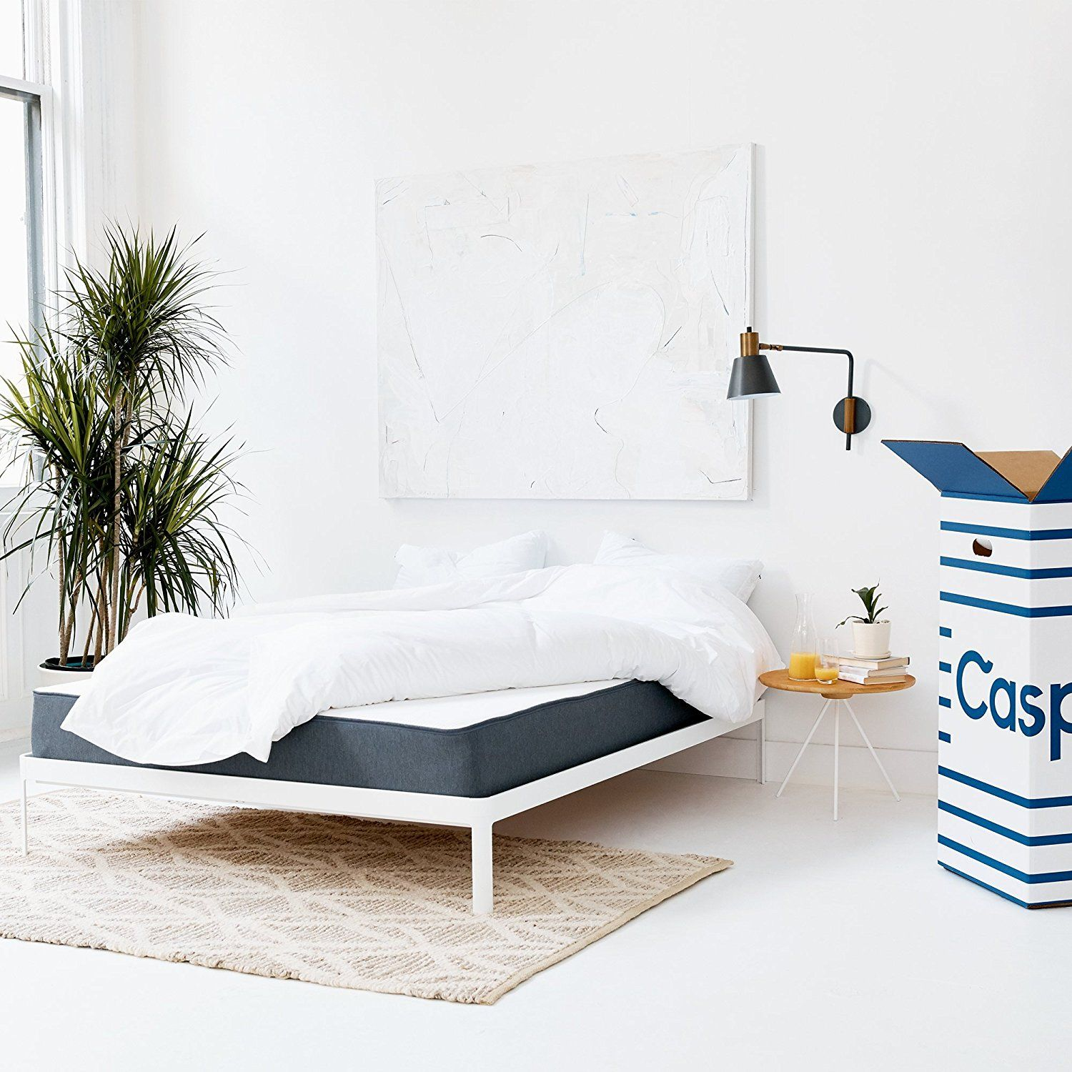 casper sleep mattress bed in a box 440 welcome home pinterest