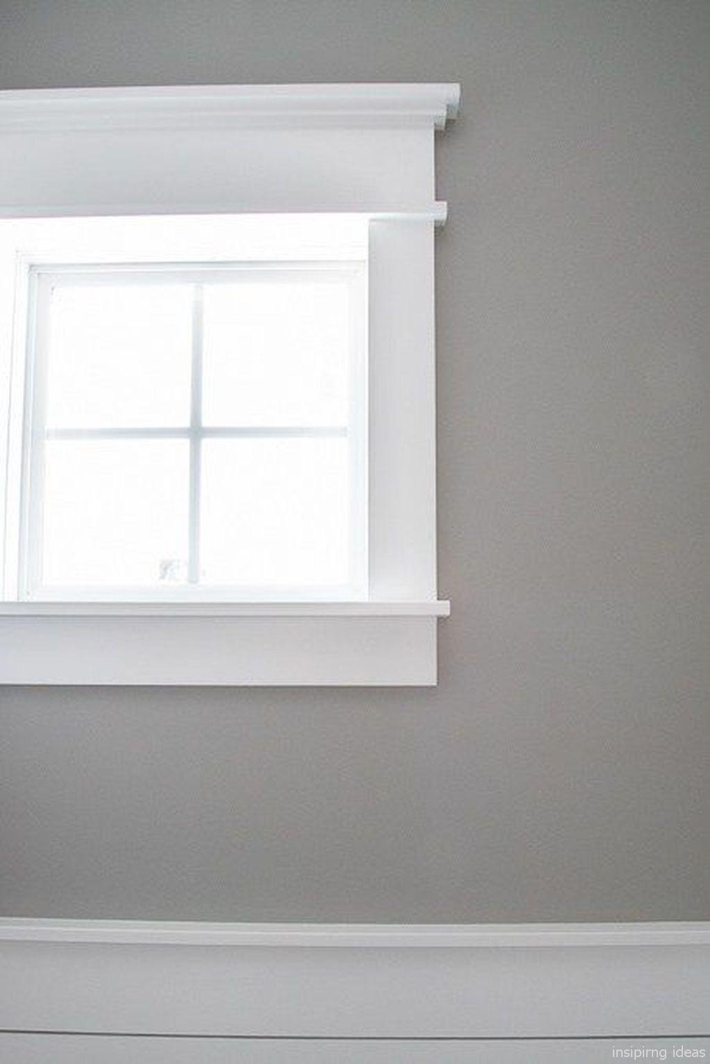 Gorgeous 18 Modern Window Trim Design Ideas https://lovelyving