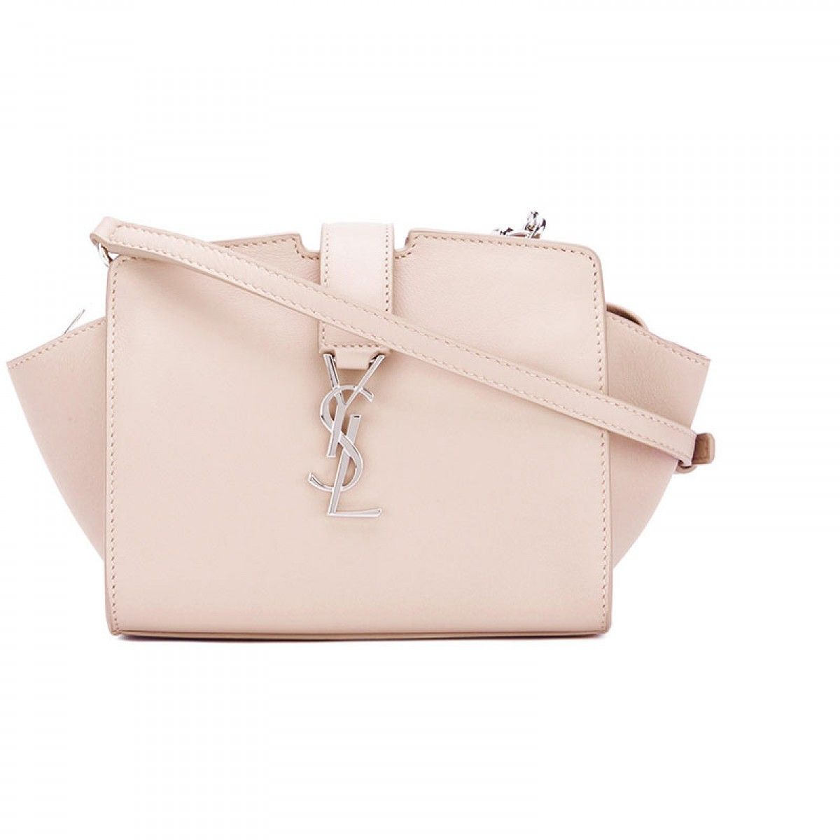 8b2d99699450 Saint Laurent Toy Cabas Bag In Leather Pink in 2019