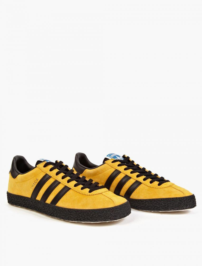 Adidas Originals, amarillo gamuza og Jamaica sneakers, yello, 0 mami