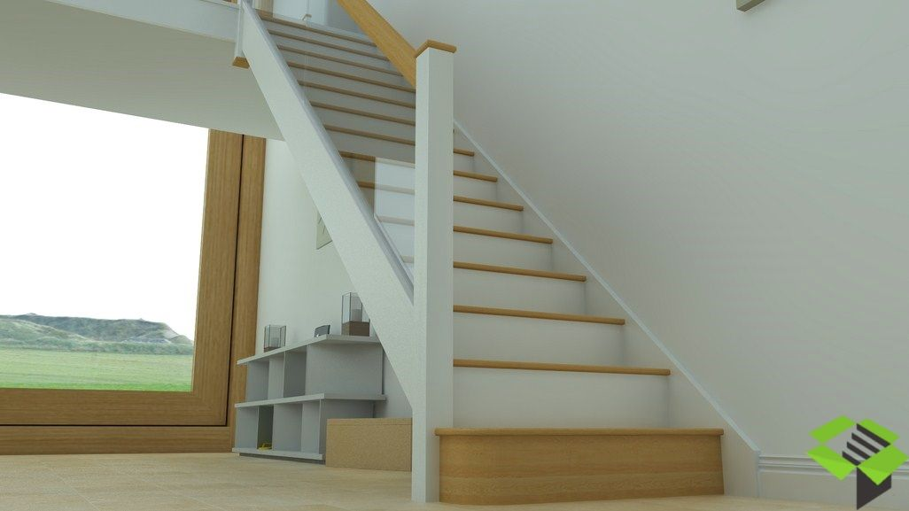 Best White And Glass Staircase 3 With Images Staircase 640 x 480