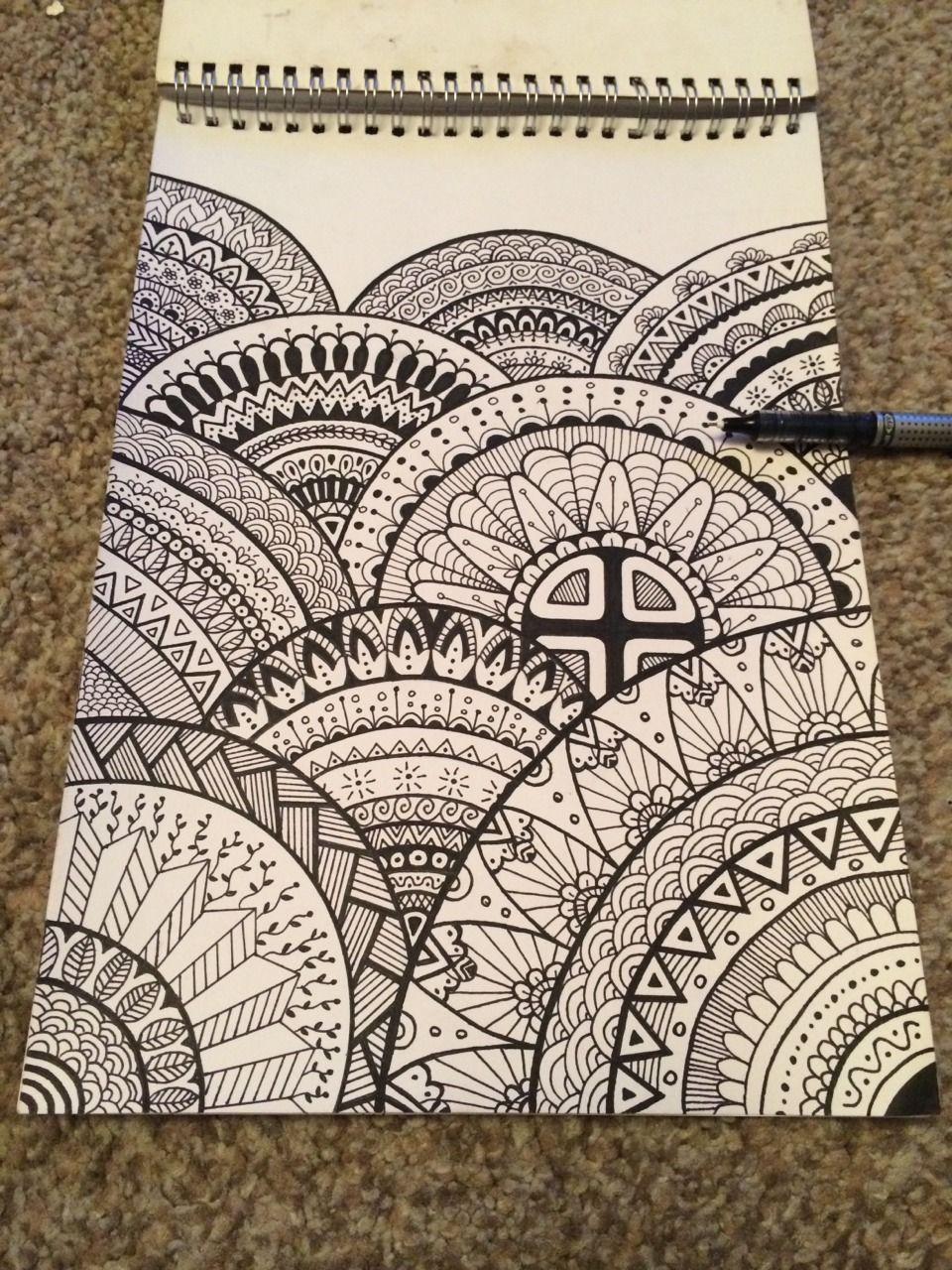 Home Design Architekturzeichnung Drawing On Demand Mandala Kunstunterricht Mandala Kunst Muster Malerei