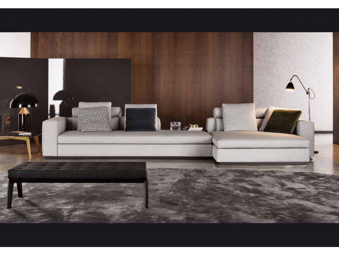 Minotti leonard design bank salon mobilier de salon salon en idee deco - Meubles minotti ...
