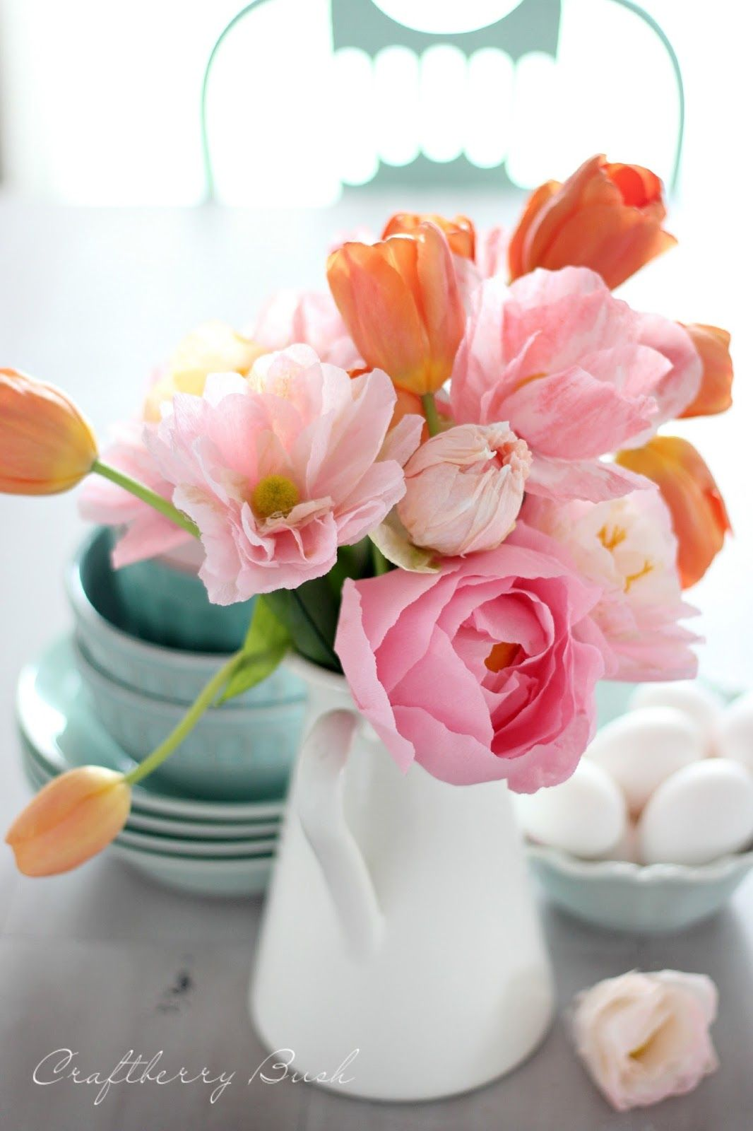 DIY paper peonies  flower  Pinterest  Peony Crepes and Paper