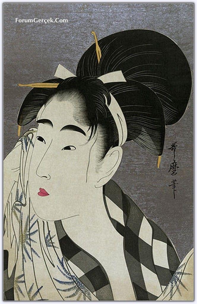 Japanese woodblock print - KITAGAWA Utamaro
