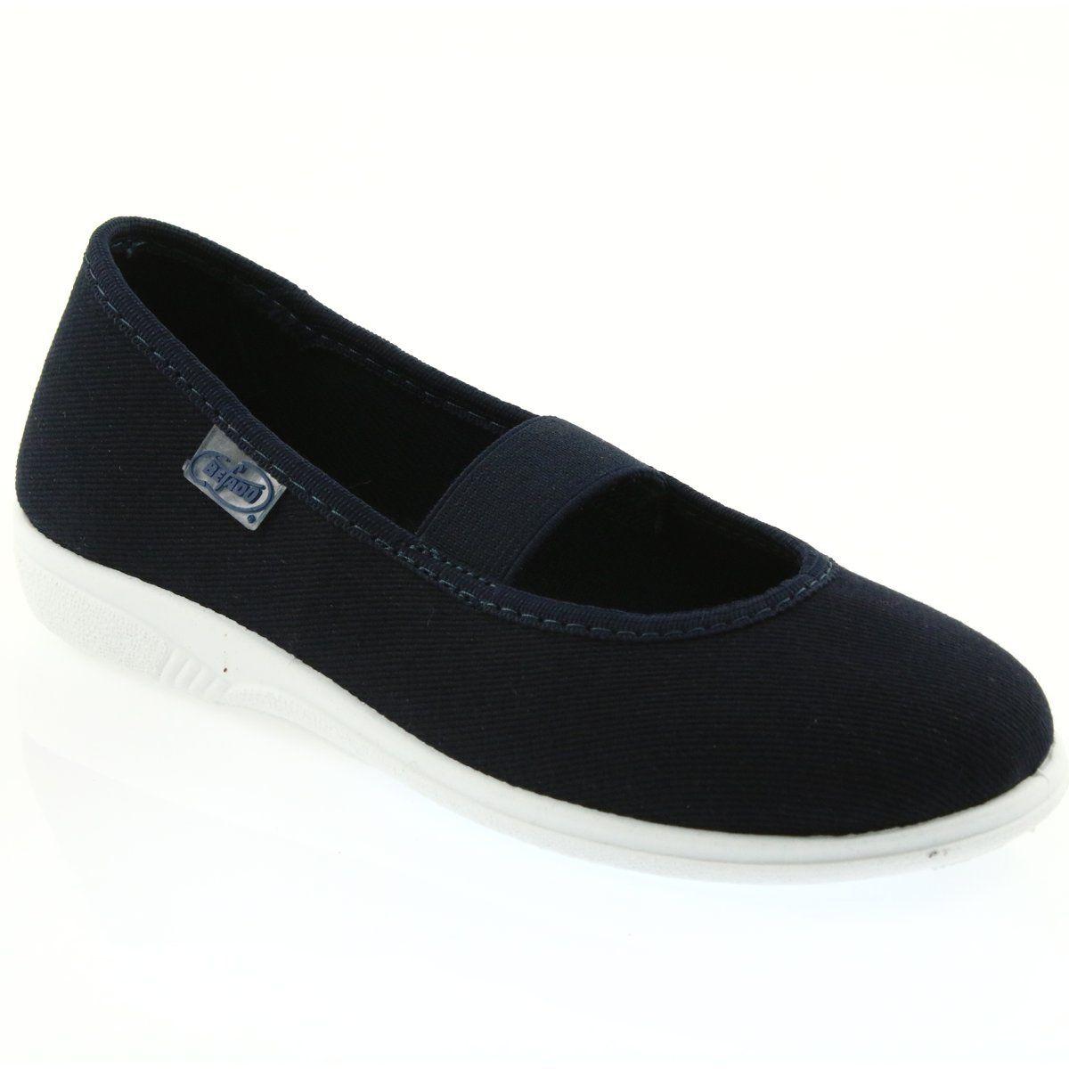 Befado Obuwie Dzieciece 274x005 Granatowe Slip On Sneaker Sneakers Shoes