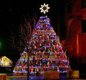 A Peek Into Beth Williams Studio Aaaaand We Re Off Christmas Tree Potted Trees Beth Williams