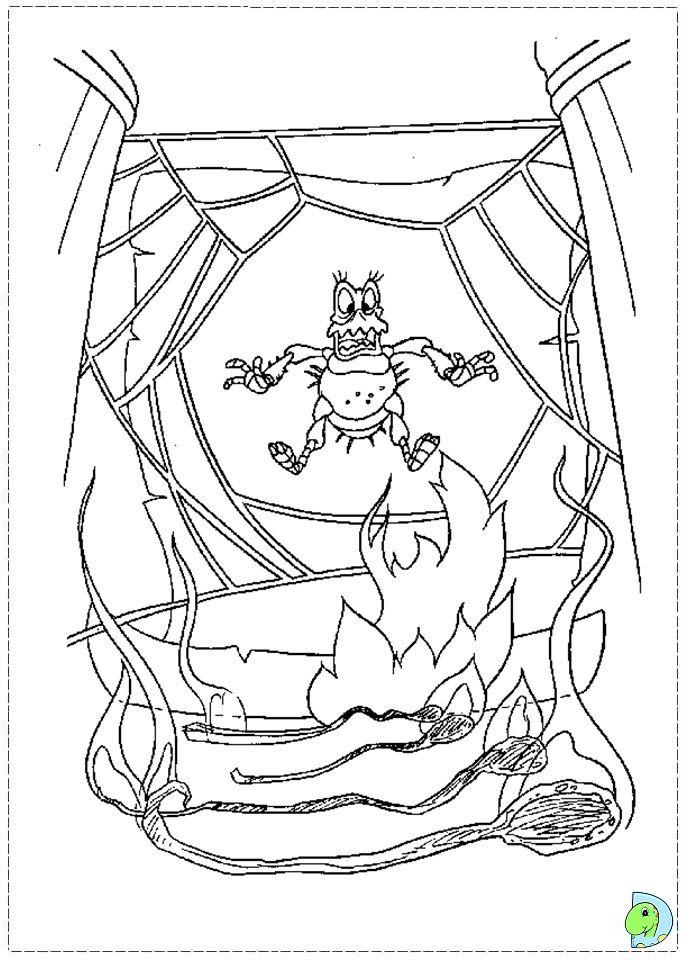 A Bugs Life Coloring page  Bugs Life Coloring Pages  Pinterest