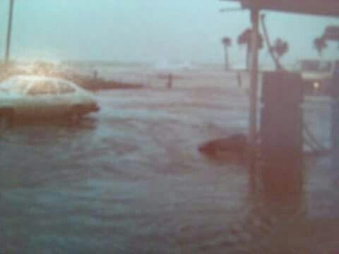 Gulf dr underwater