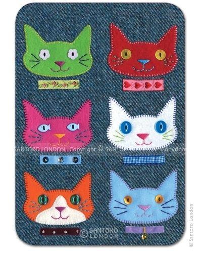 Cats - postikortti. Kortteja voidaan toimittaa maksimissaan 10 kpl kirjetoimituksena 2,50€ kuluin.