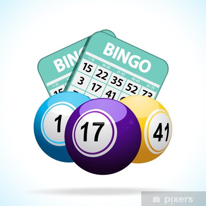 Bingo Balls And Cards Poster Pixers We Live To Change Bingo Textured Background Poster Frame