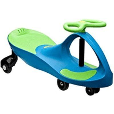 PLASMART INC PLASMACAR AQUA BLUE LIME GREEN by PLASMART INC. $66.96. The PlasmaCar, by PlaSmart, is a mechanical marvel that makes use of the most inexhaustible source of energy; kid-power.One of the world's best-selling children's ride-on-toys, the PlasmaCar's unique and award-winning design requires no batteries, pedals, gears, or electrical parts to propel the car; you simply turn the steering wheel, and away you go! The PlasmaCar harnesses the natural forces o...