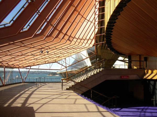 Inside the Sydney Opera House by miyokoohtake House