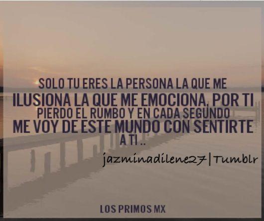 Quote Lyric Mibelloangel Primosmx Tumblr Letra Cancion Amor