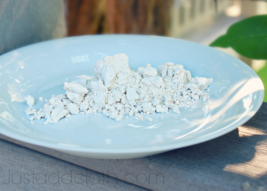 Make Your Own Diatomaceous Earth Face Scrub » Just Add