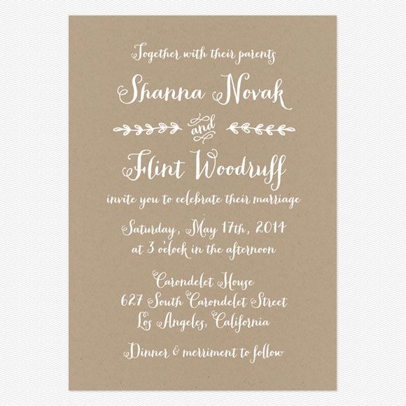 Your Guide To Wedding Invitation Wording And Etiquette