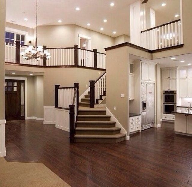 Open Floor Plan Living Room And Kitchen Dream Home