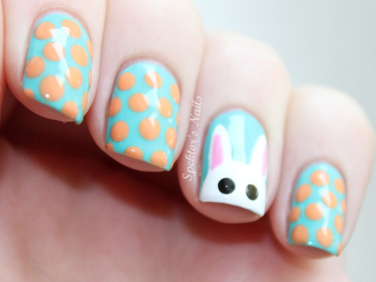 Look at that little fella!!! Just in time for Easter too! :D