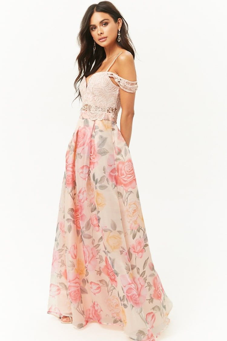 Park Art My WordPress Blog_Cold Shoulder Maxi Dress Floral