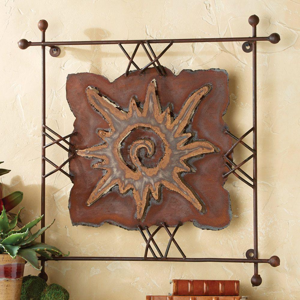 Sun Southwestern Wall Art Southwest Wall Art Metal Tree Wall Art