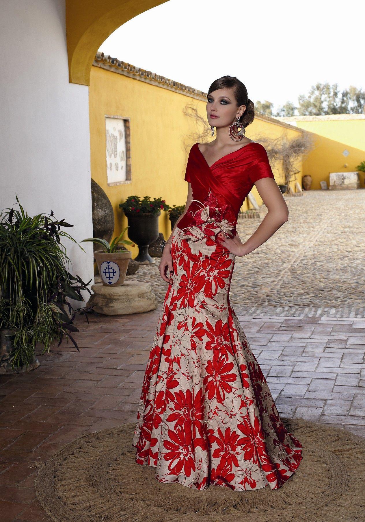 65895bba67 Vestidos de fiesta 2013 de Manu Garcia