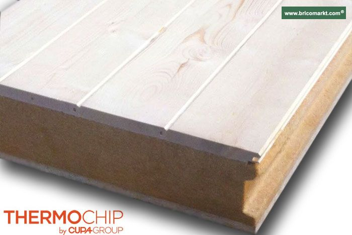 Panel de sandwich precio panel sandwich thermochip for Tejados de madera thermochip