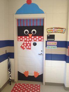 penguin door decorating ideas. Preschool Door Decoration Ideas | Themes Bulletin Board / Penguin Decorating C