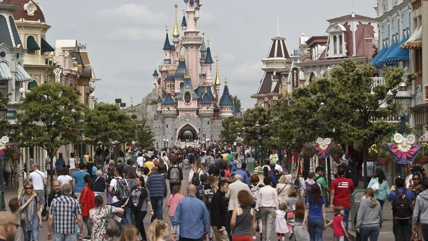 Two arrested at Disneyland Paris after guns, ammo, Koran found in suitcase #gunsammo