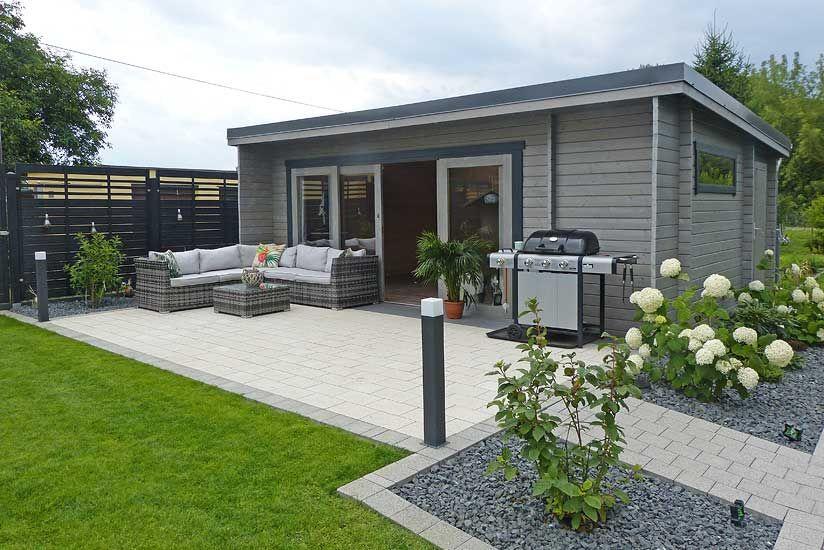 Gartenhaus Bunkie40 Gelungener Aufbau und Einrichtung