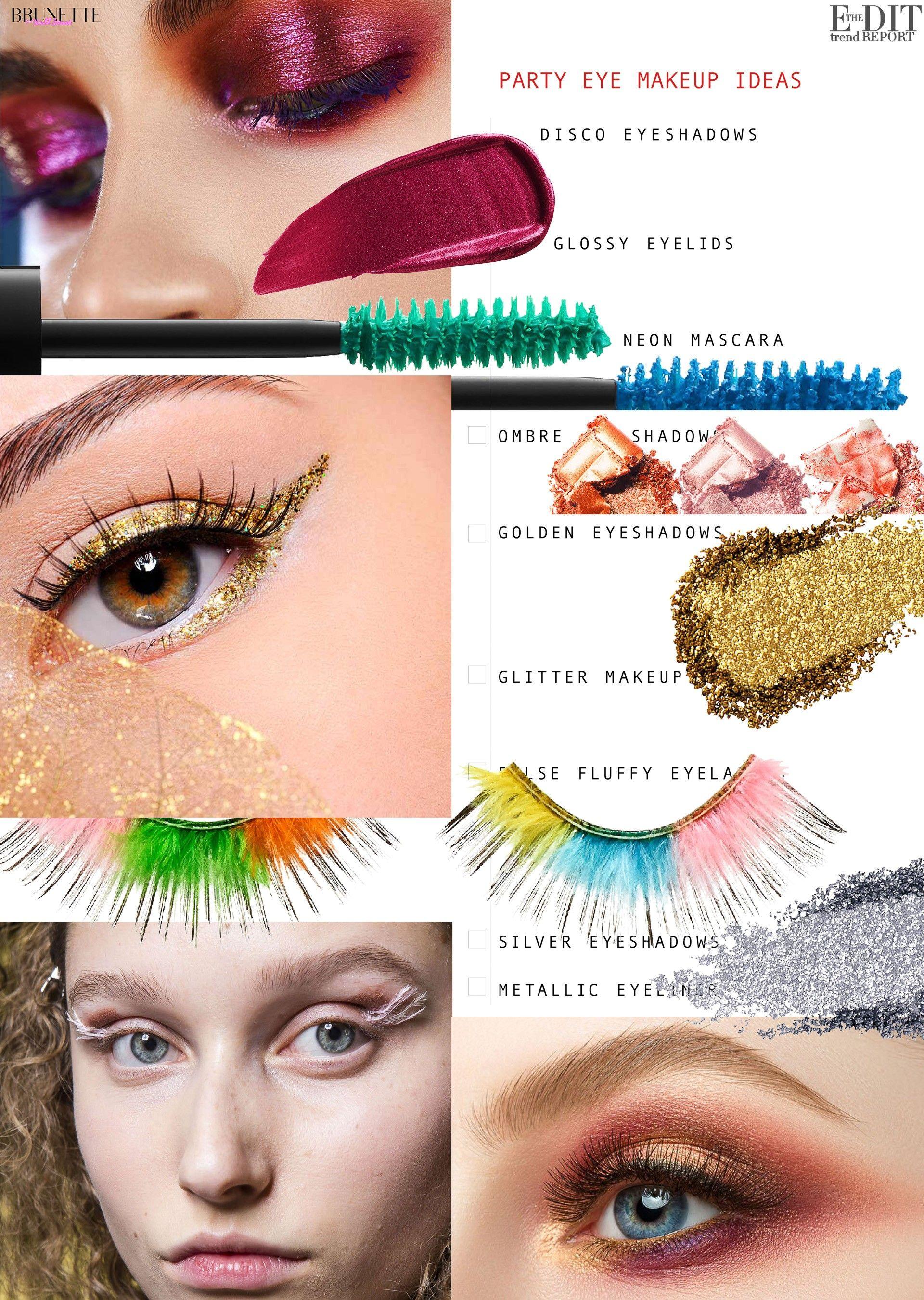 Eye Makeup Trends For Winter 2020 Makeup Trends Eye Makeup New