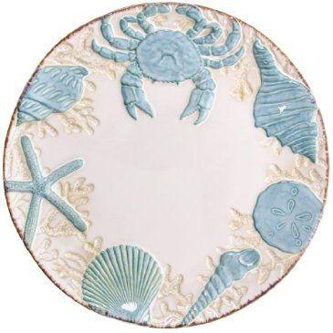 Stoneware Seashell Dinner Plate Http Shop Crackerbarrel