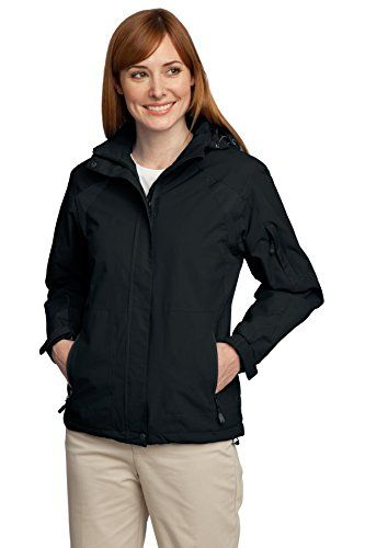 9a07d455c03 Port Authority Womens All Season II Jacket XXL BlackBlack   Check this  awesome product by going to the link at the image.(This is an Amazon  affiliate link ...