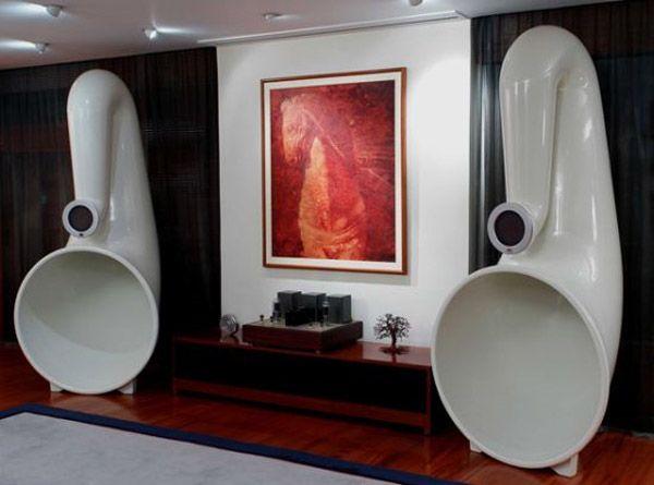 Pnoe Horn Speakers | Stereo | Horn speakers, Speaker design